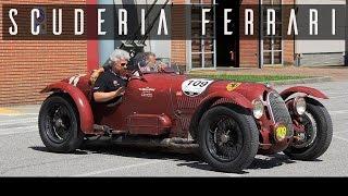 ALFA ROMEO 8C 2900 A BOTTICELLA - Mille Miglia - Scuderia Ferrari | Straight 8 engine sound | SCC TV