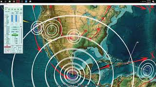 2/16/2018 -- Large M7.2 (M7.5) earthquake strikes South Mexico -- Pacific unrest hits Americas