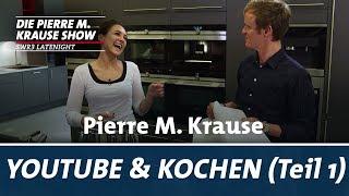 Pierre M. Krause wird gecoacht – Kochen & YouTube (Teil 1)
