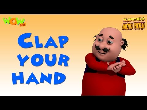 Clap your hand l Nursery Rhyme with MOTU PATLU | Popular Nursery Rhymes For Children
