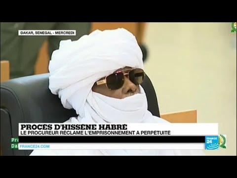 Procès Hissène Habré - Le procureur réclame l