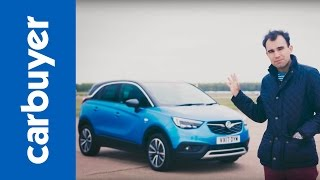 Vauxhall Crossland X SUV review (Opel Crossland X) - James Batchelor - Carbuyer