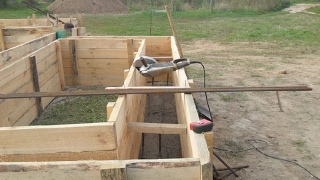 Стройка дома. Фундамент  Опалубка своими руками