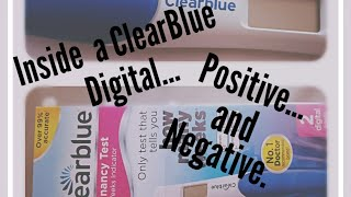 Inside A Negative and Positive ClearBlue Digital | Week Indicator | Not a Sponsored video