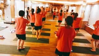 성남신흥역 플라워핫요가 스텝&워킹 수업영상(!!…