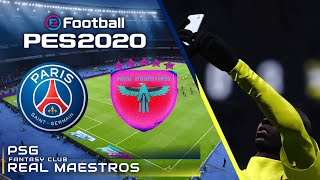 PES 2020 Gameplay | PSG vs. Real Maestros