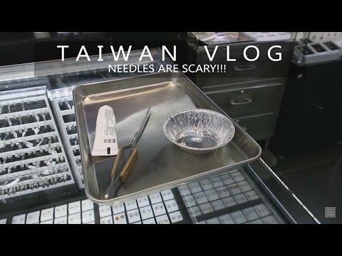 Needles Are Scary!!! | TAIPEI, TAIWAN VLOG