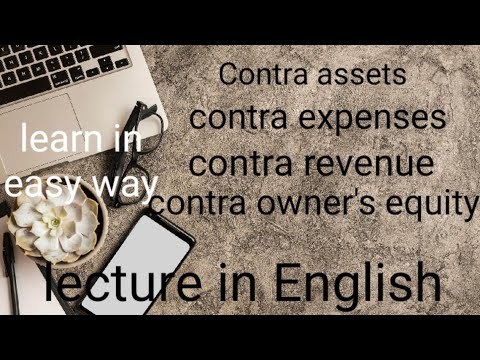 Contra in English | contra of elements | contra assets | House of commerce