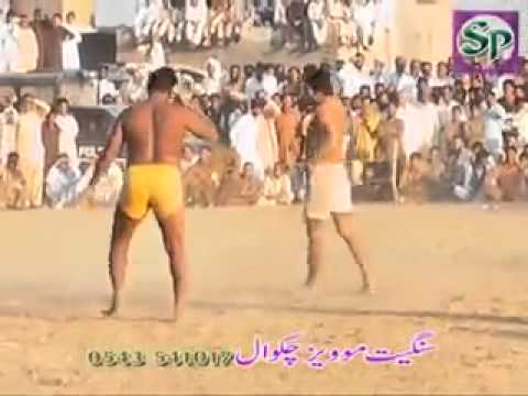 Pakistan kabaddi man almost gets Knocked out by lethal SLAP Dadyal mela 2013