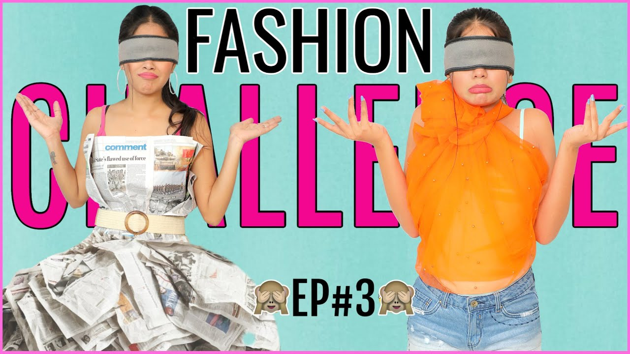Fashion DARE Challenge - BLIND FOLD | Episode 3 | DIYQueen