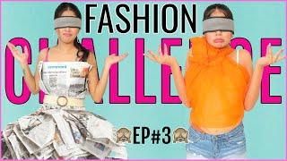 Fashion DARE Challenge - BLIND FOLD | Episode 3 | DIYQueen