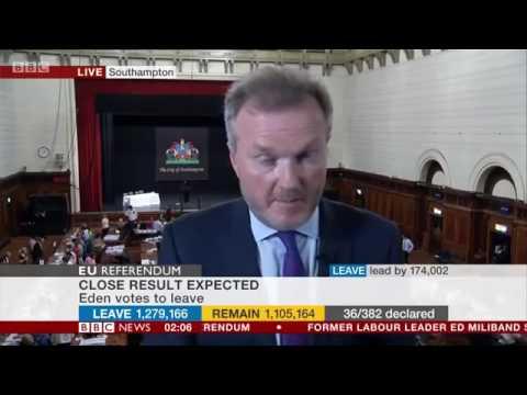 BBC EU Referendum Results Coverage Part 2 2am to 6am