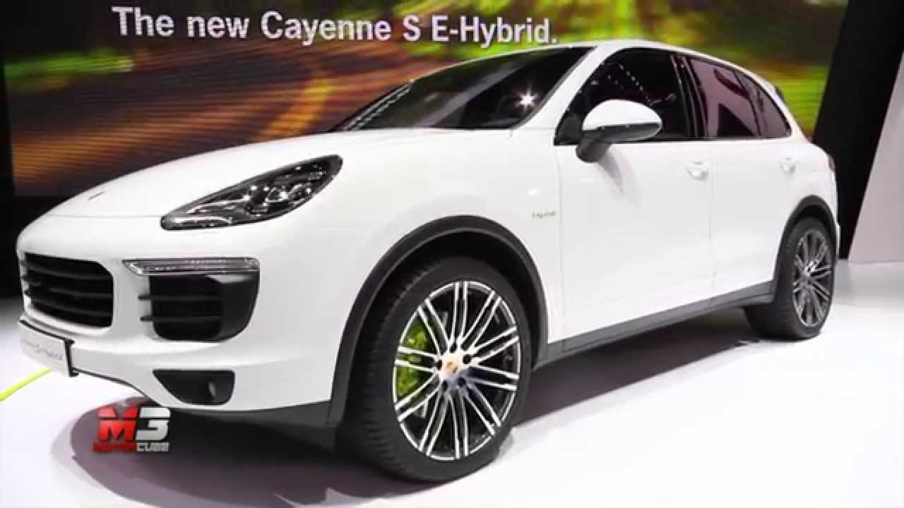 porsche macan turbo cayenne s e hybrid 2015 paris motor show 2014 salone di parigi 2014. Black Bedroom Furniture Sets. Home Design Ideas