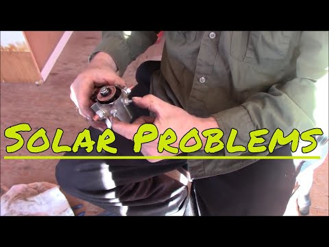 Problems With Our Solar Set Up Again  ( Off Grid Living ) Can Be Challenging