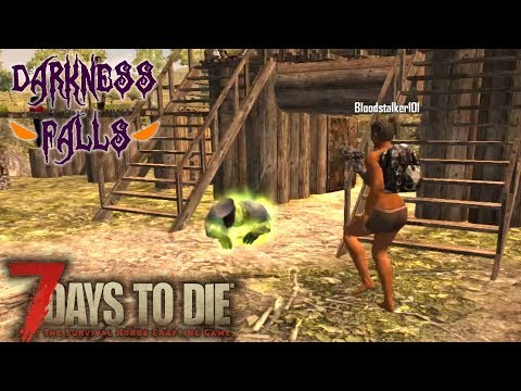 MULTIPLAYER HYPE! | Darkness Falls MOD 7 Days to Die | Let's Play Multiplayer Gameplay | S02E01