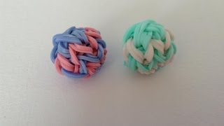 Rainbow loom Nederlands, 3D stuiterbal, monster tail
