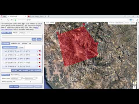 Tutorial: Descargar imagen Aster Global DEM (raster de elevaciones) desde USGS Earthexplorer