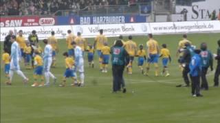 Eintracht Braunschweig vs TSV 1860 München - Saison 2012/2013 - Impressionen