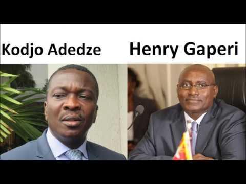 Office Togolais des Recettes (OTR): Faure limoge le Rwandais Henry Gaperi et nomme Kodjo Adedze