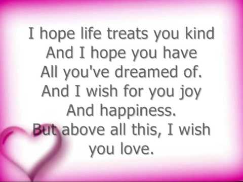Whitney Houston - I will always love you (with lyrics)