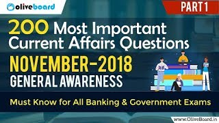 Download Video 200 Most Important GK Questions | November Current Affairs | Part-1 MP3 3GP MP4