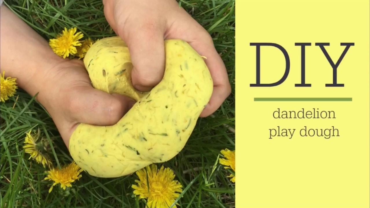 DIY Dandelion Play Dough Recipe