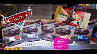 Disney Cars Diecast Search Ep. #7 (BRAND NEW FINDS, Thomasville Racers Deluxes e.t.c)