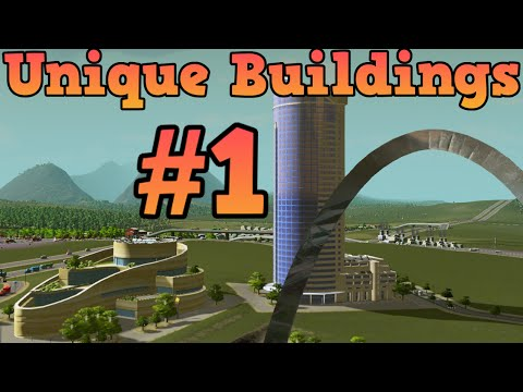 Cities Skylines - Unlocking all unique buildings - Episode 1- Statue of Shopping