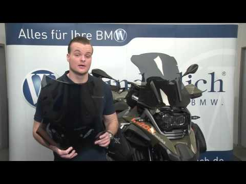 Wunderlich windscreen for the BMW R 1200 GS LC and other