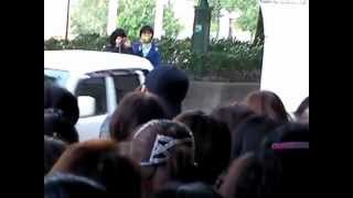 2012.11.4宝塚雪組『JIN-仁』 音月 桂、他 入り待ち♪
