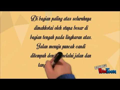 Teks Deskripsi Candi Borobudur Youtube