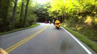 yellow wolf at deals gap with friends