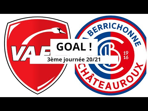 Valenciennes Chateauroux Goals And Highlights