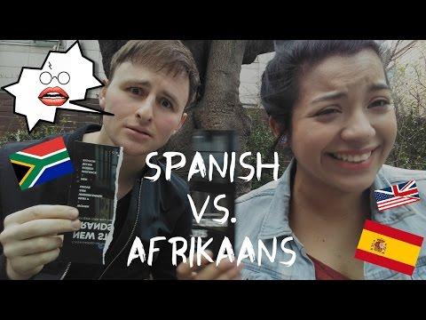 SPANISH VS. AFRIKAANS (Con subtítulos en español)   Language Wars ep. 3