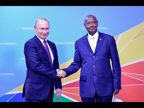 MUSEVENI ADDRESSES RUSSIA AFRICA SUMMIT IN SOCHI