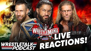 WWE WrestleMania Night Two LIVE REACTIONS! | WrestleTalk Podcast