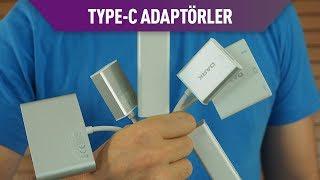 USB Type-C Adaptör ve çeviriciler testte