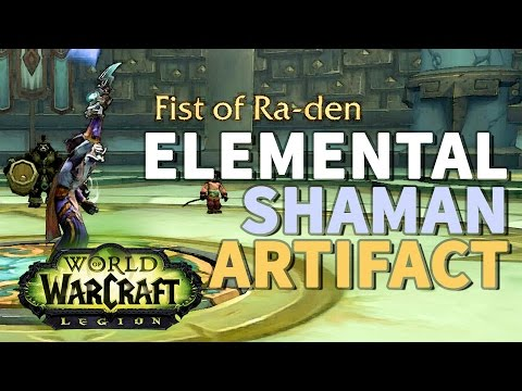 The Codex of Ra WoW Elemental Shaman Artifact Quest