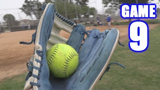 MOST CATCHES I'VE EVER MADE! | On-Season Softball Series | Game 9