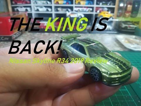 Nissan Skyline R34 2019 Hotwheels Review Video S Youtube Na