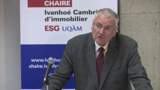 Acfas 2016: Colloque 497 en immobilier - Michel Roux, Université Paris 13
