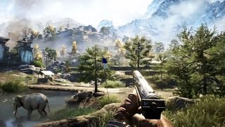 PS4 - Far Cry 4 Gameplay Walkthrough [E3 2014]