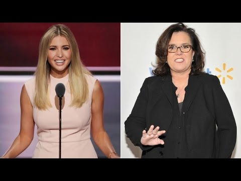 Rosie Odonnell Says She Ran Into Ivanka Trump In Nyc Thank You For Listening