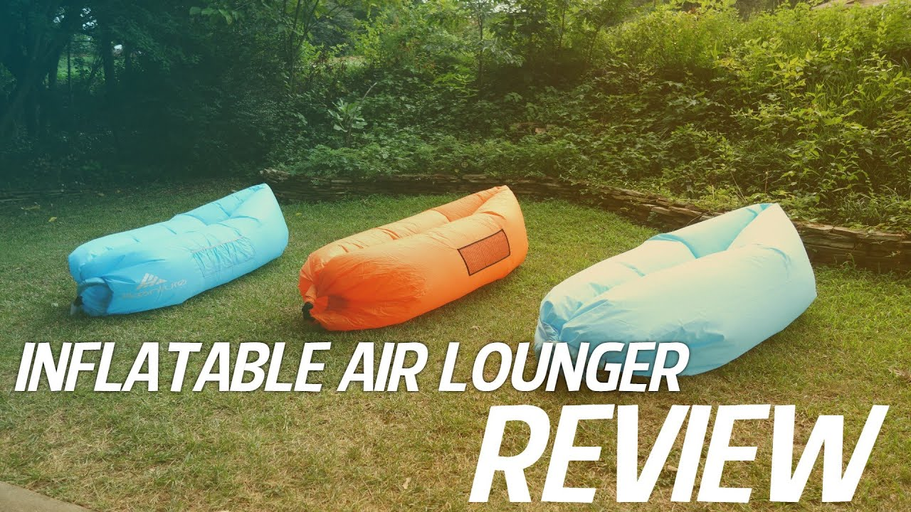 Inflatable Outdoor Air Loungers Review Comparision Youtube