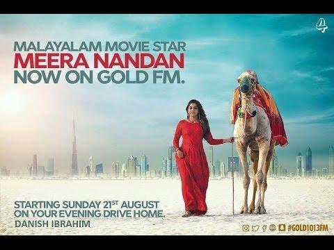Meera Nandan Join as Radio Jockey in Golden Fm 101.3 UAE