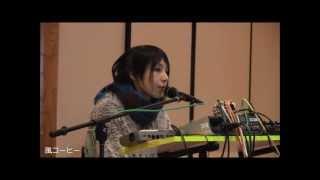 """山田杏奈 """"ANNA-SCENE"""" 2012年12月23日、第一回&SCENE手創り市、本堂ラ..."""