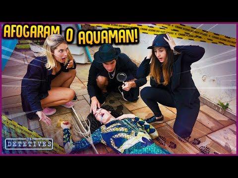 AFOGARAM O AQUAMAN!! - OS DETETIVES #2 [ REZENDE EVIL ]