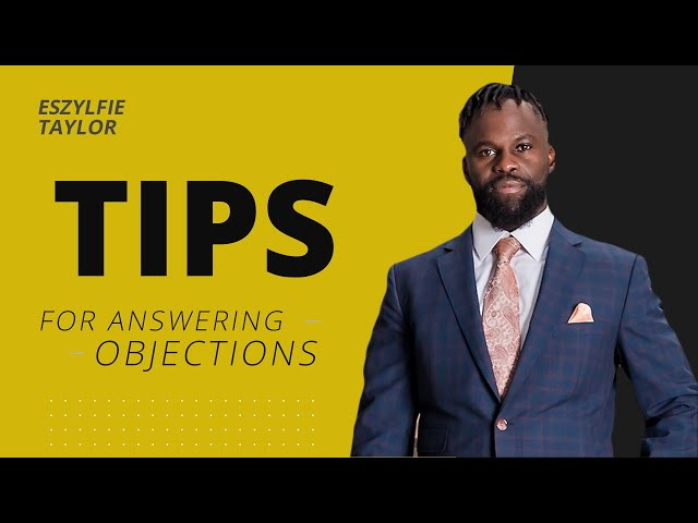 Tips for Answering Objections when Booking Appointments
