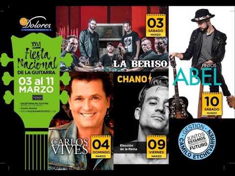 FESTIVAL NACIONAL DE LA GUITARRA 2018  EN  RADIO 8 !!  -5 -