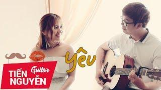 Yêu - vợ chồng Tiến Nguyễn ft Phương Dung Socola [Live Guitar]